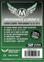Protecteurs Mayday Games 63,5mm x 88mm Premium (50)