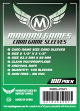 Protecteurs Mayday Games 63,5mm x 88mm Standard (100)