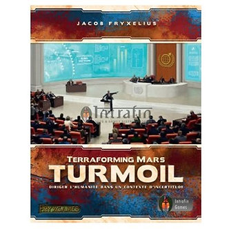 Terraforming Mars : Turmoil (Version KS avec plateaux de joueurs) (VF)