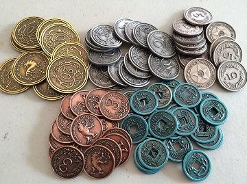 Scythe - Pièces en métal