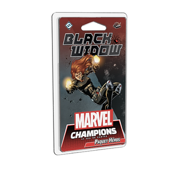 Marvel Champions : Black Widow - Paquet Héros (VF)