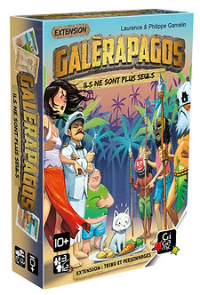 Galérapagos : Tribu et Personnages (VF)