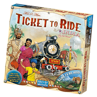 Les Aventuriers du Rail - Inde/Suisse (ML)