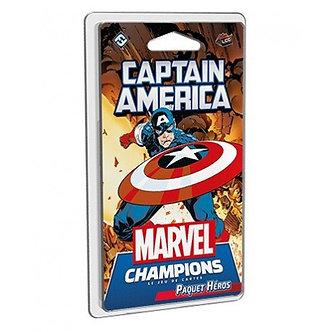 Marvel Champions : Captain America - Paquet Héros (VF)