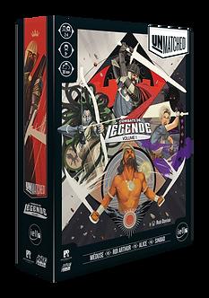 Unmatched : Combats de Legende (VF)