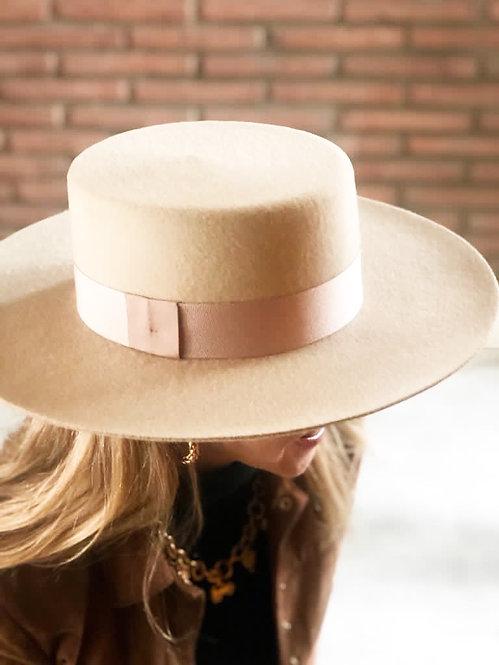 Sombrero Campero Crema