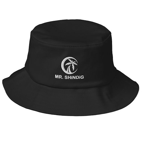 Old School Bucket Hat - Mr SHiNDiG