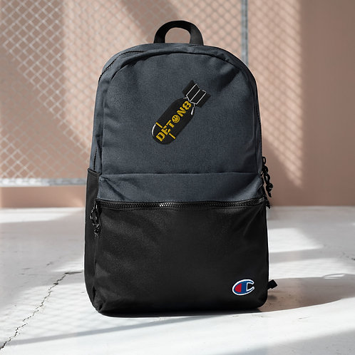 Embroidered Champion Backpack - DETON8