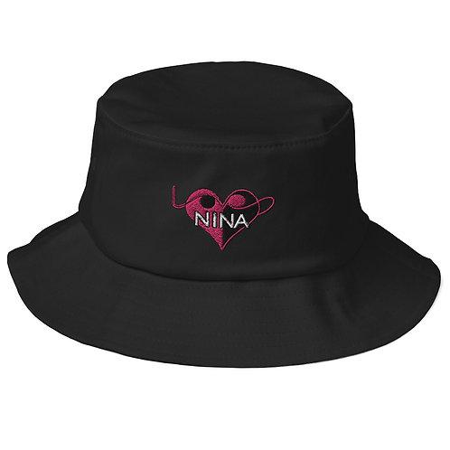 Old School Bucket Hat - Nina LoVe