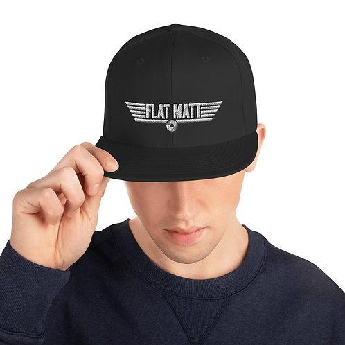 Snapback Hat - Flat Matt