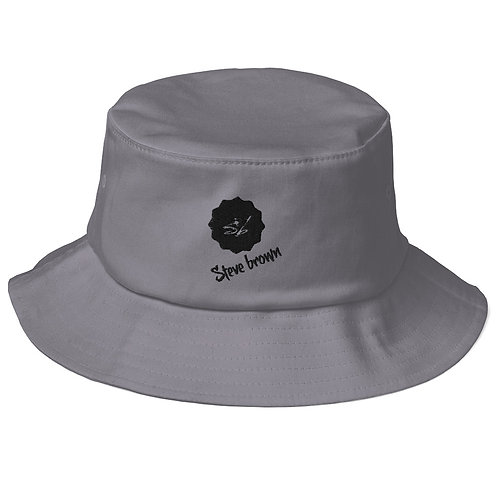 Old School Bucket Hat - Steve Brown