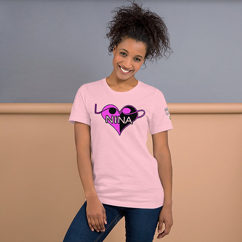 Short-Sleeve Unisex T-Shirt - Nina LoVe