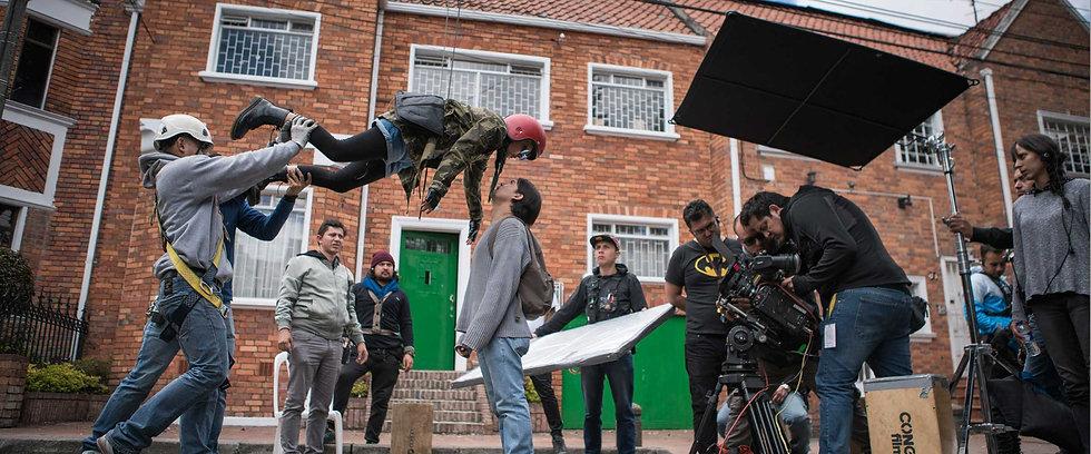 2bOriginals es una productora para cine y televisión. En la imagen se puede ver el rodaje de nuestra primera película