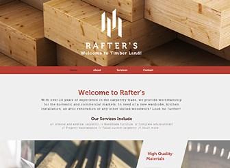 Carpenter Website Template Wix