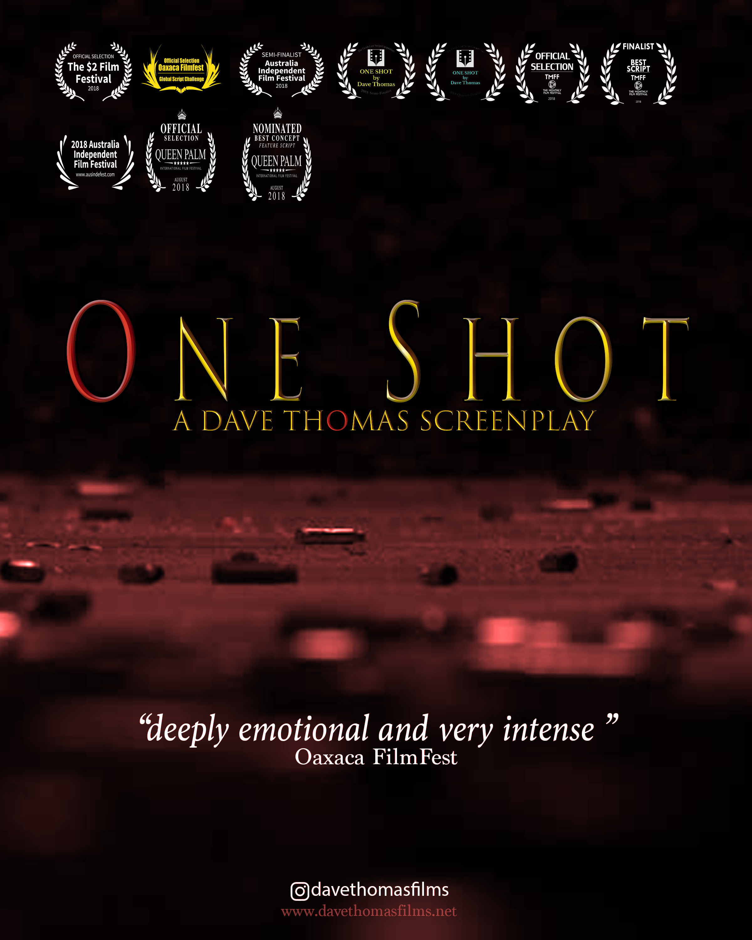 One Shot poster 2020 copy