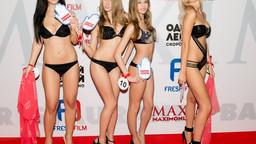 Кастинг девушек Maxim для съемок фильма «Одной левой».