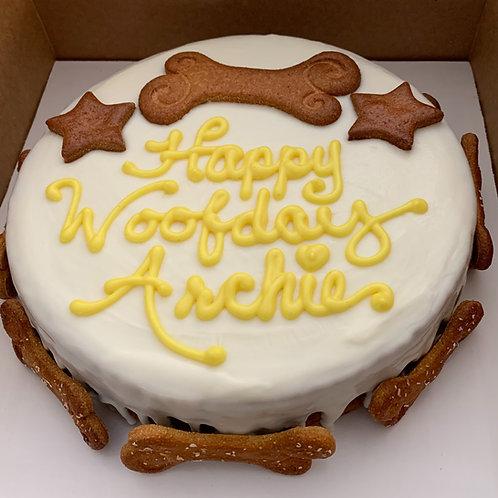 A Barker's Dozen Woofday Cake