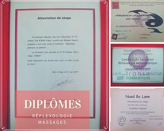 Certification réflexologie planatire et métamorphique