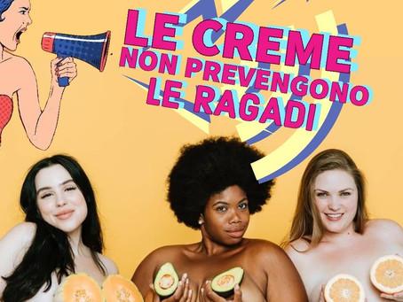 LE CREME NON PREVENGONO LE RAGADI!!🤱