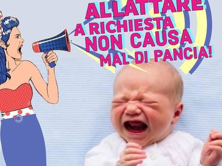 ALLATTARE A RICHIESTA NON CAUSA MAL DI PANCIA!