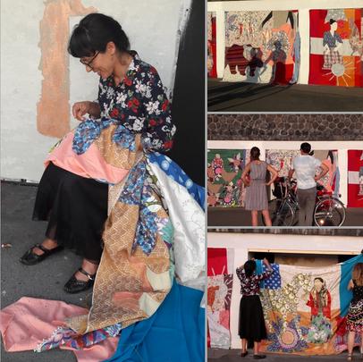 Wystawa Tkaniny Małgorzata Mirga -Tas
