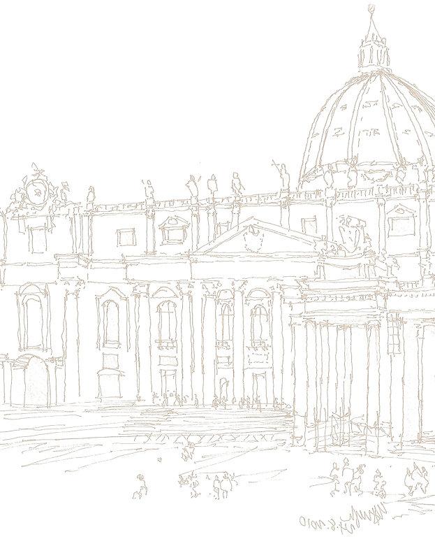The Vatican. Headquarters of the Roman Catholic Church