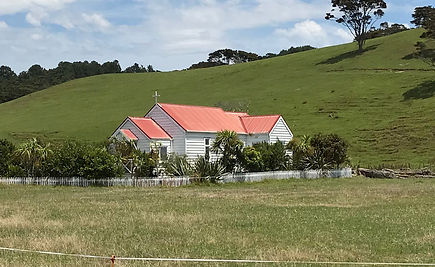 Maori church in New Zealand