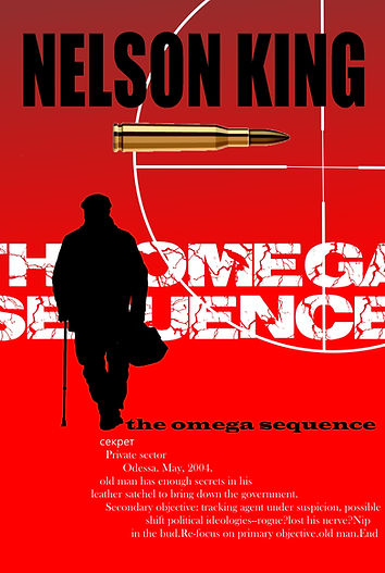The Omega Sequence cover by author Nelson King