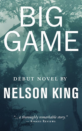 Big Game cover by author Nelson King