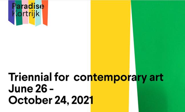 Paradise Kortrijk Belgium. Triennial for  contemporary art