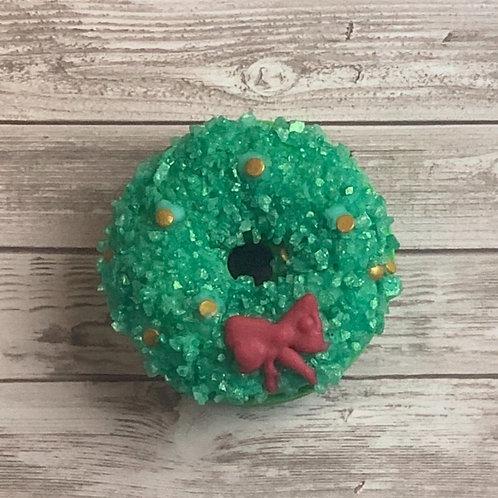 Festive Wreath Bath Bomb
