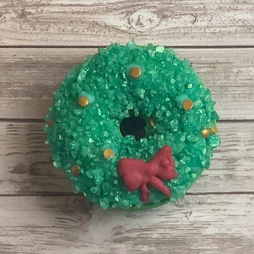 Wholesale Festive Wreath Bath Bomb