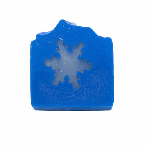 Wholesale Sparkling Snowflake Soap