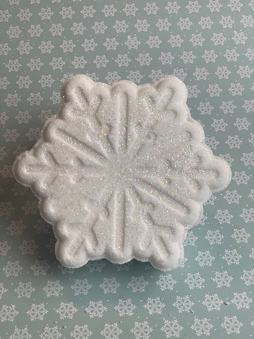 Wholesale Sparkling Snowflake Bath Bomb
