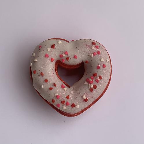 Wholesale Heart Donut Bath Bomb