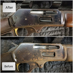 Freedom Lube Gun Oil (Before and After)