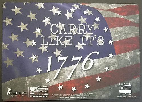 "Carry Like It's 1776 - Promat - 12""X17"""