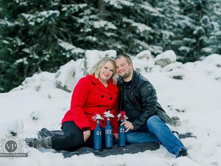 Dustin and Mishaela Engagement