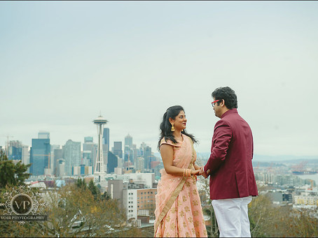 Amit and Anupama Engagement