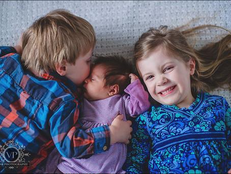 Domenico and Meghann Newborn Photo Session
