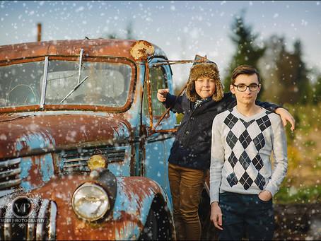 Tolik and Yulya Family Photo Session