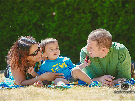 Baby Dmitriy - Family Photo Session