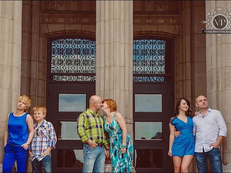 Valeriy and Maryana Family Photo Session