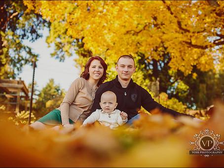Anton, Ekaterina and Maxim Family Session