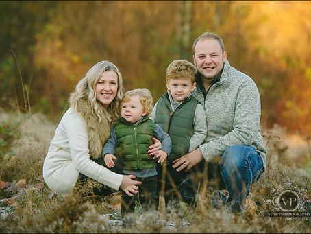 John and Angela Family Photo Session