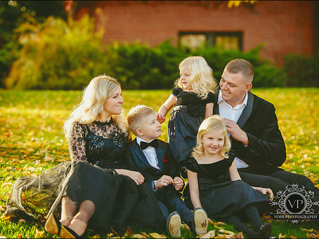 Valentyn and Inna Family Photo Session