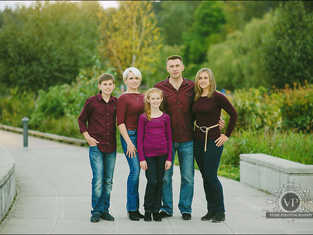 Oleg and Oksana Family Photo Session