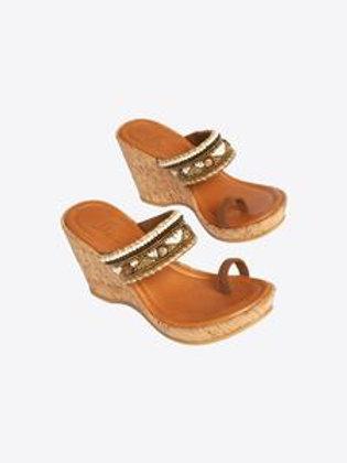 Saga Wedge Sandals