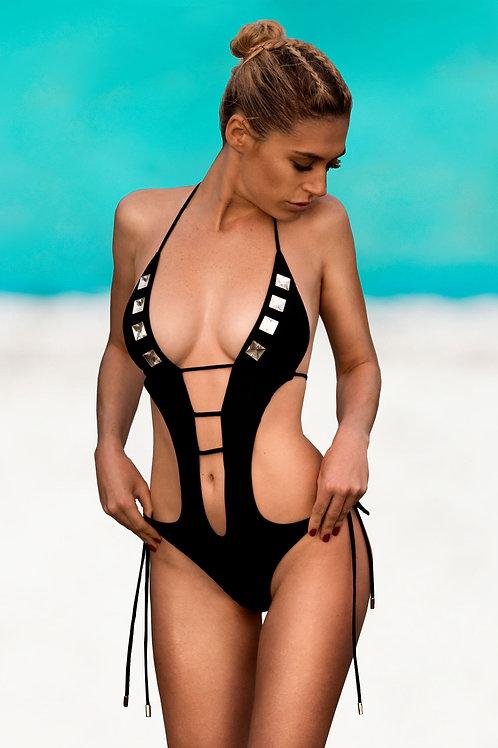 Swarovski Black Swimsuit