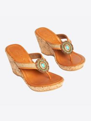Fallon Wedge Sandals